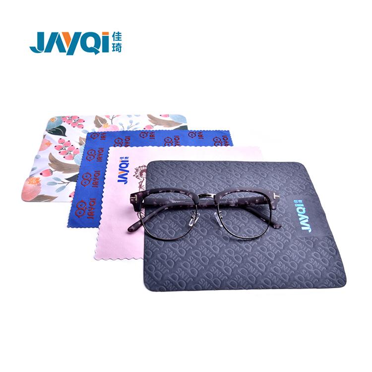 custom print microfiber glasses cleaning cloth for cute glasses