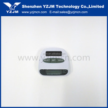 Promotional OEM Portable Digital Solar Power Pedometer Calorie Distance Counter