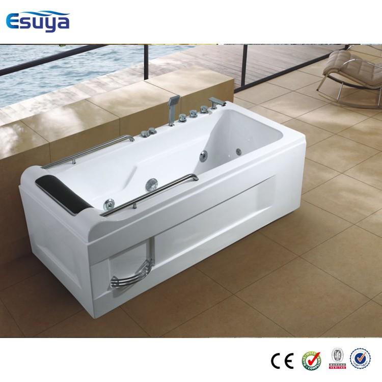 High quality acrylic massage bathtub for one person use for Best acrylic bathtub to buy