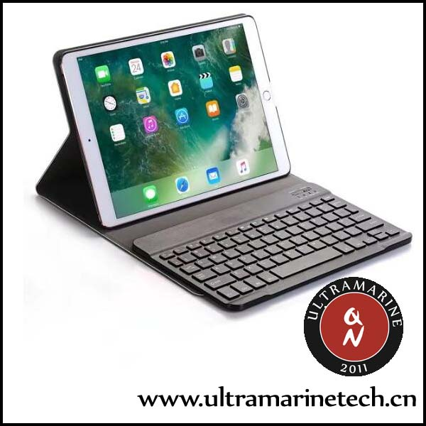 Super Slim Matt Leather Detachable ABS Keyboard Wireless Bluetooth Keyboard Case For <strong>iPad</strong> 9.7 2018