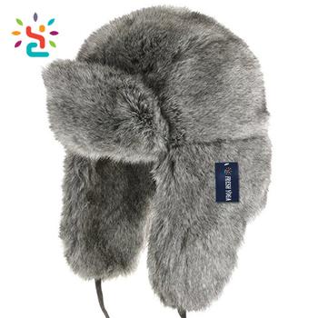 9315c8c3df7 Sheepskin Winter Fur ushanka trapper hat Fashion Fur military ski Hat  Pattern russian hat