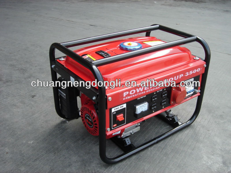 3KW Air Cooled Petrol Generator