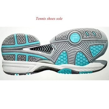 Tennis Shoes Sole Eva Midsole And Rubber Outsole Indoor Sports ...