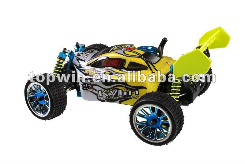 1/16th Scale 4WD nitro gas powered off-road buggy