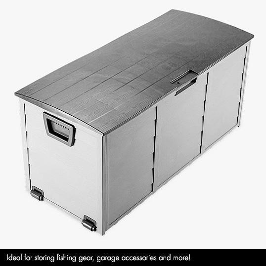 Garden Tools Plastic Outdoor Storage Cabinets Chest Waterproof