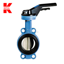 Unique design wafer type butterfly valve
