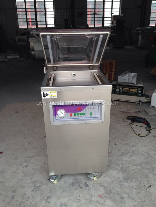 Newlly!!! 400 Model Frozen meat packing machine, Rice sorghum vacuum packaging machine, Frozen fish vaccum packager