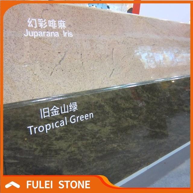 Tropical Green Granite Kitchen Countertop Materials Discount Countertops  Free Samples