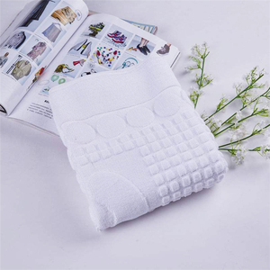 hot sale cheap custom natural Printing 100% Cotton super fast water absorbent soft bath mat