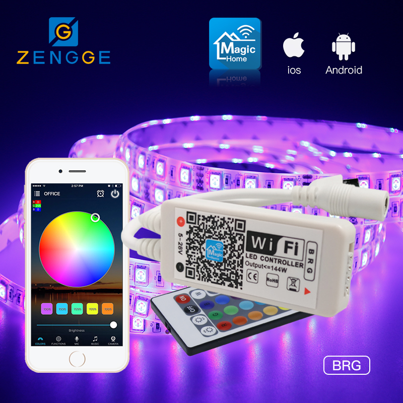 hot sales products,Free APP WiFi led dimming controller 12vdc for led flexible strip white