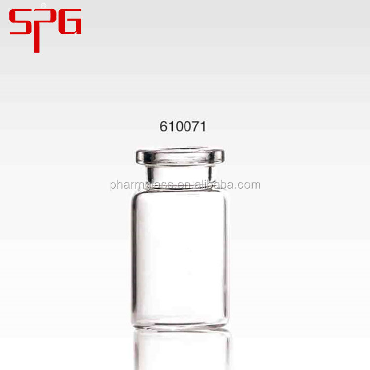 glass tubular vial with screw finish