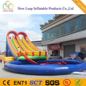 Splash Water Park Type Giant Inflatable Pool Slide Water Slide Buy