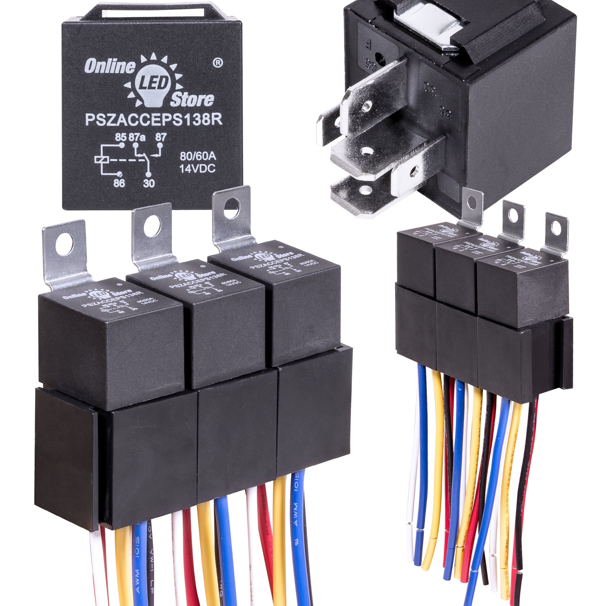 Cheap 12v Relays Find Deals On Line At Alibabacom Transistor Switch Relay 5 Pack Ols 60 80 Amp Harness Set Heavy Duty