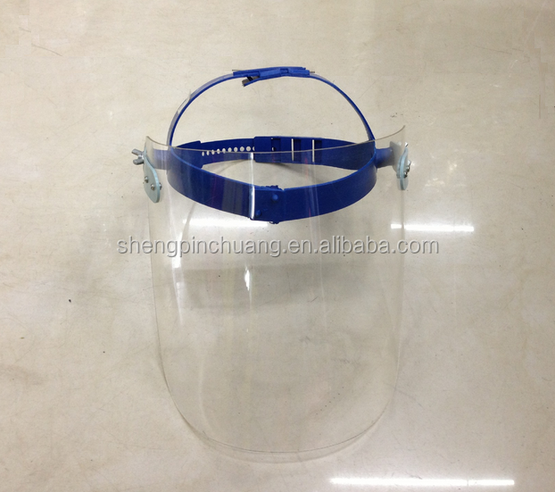 SPC-C324 Face mask with splash shield uv transparent face shield
