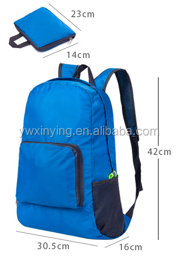 Strongly Recommend Travel Outdoor Lightweight User-friendly Design Folding Waterproof Backpack