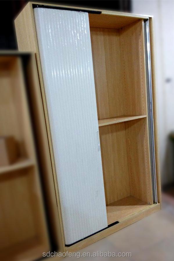 Fashion Roller Shutter For Wooden Cabinet Plastic Roller