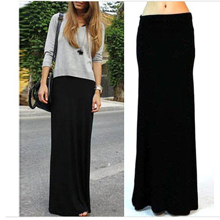 Long Fitted Maxi Skirt, Long Fitted Maxi Skirt Suppliers and ...