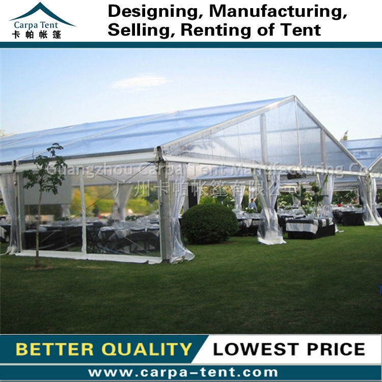 Waterproof Transparent Party Tents Clear For Sale 15x50m