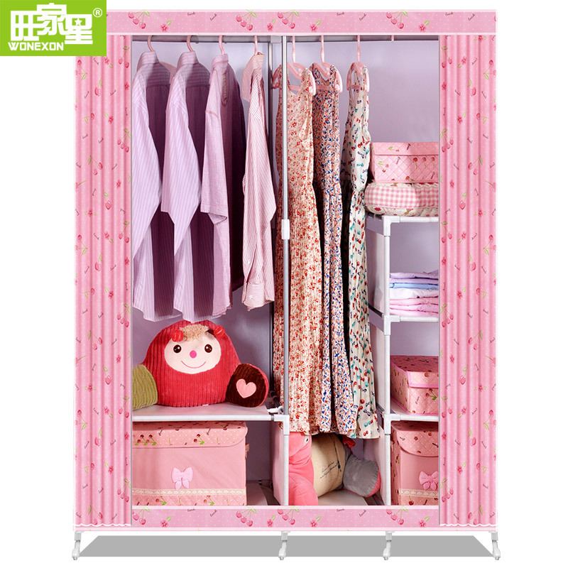 Top Sale Easy To Assemble Fabric Wardrobes Designs