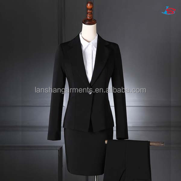 New fashion slim office ladies skirts / pants suits