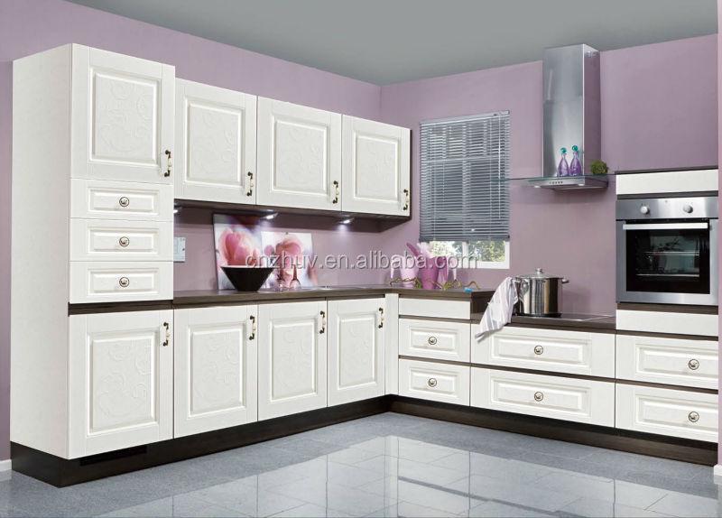 Venta al por mayor gabinetes altos de madera para cocina-Compre ...
