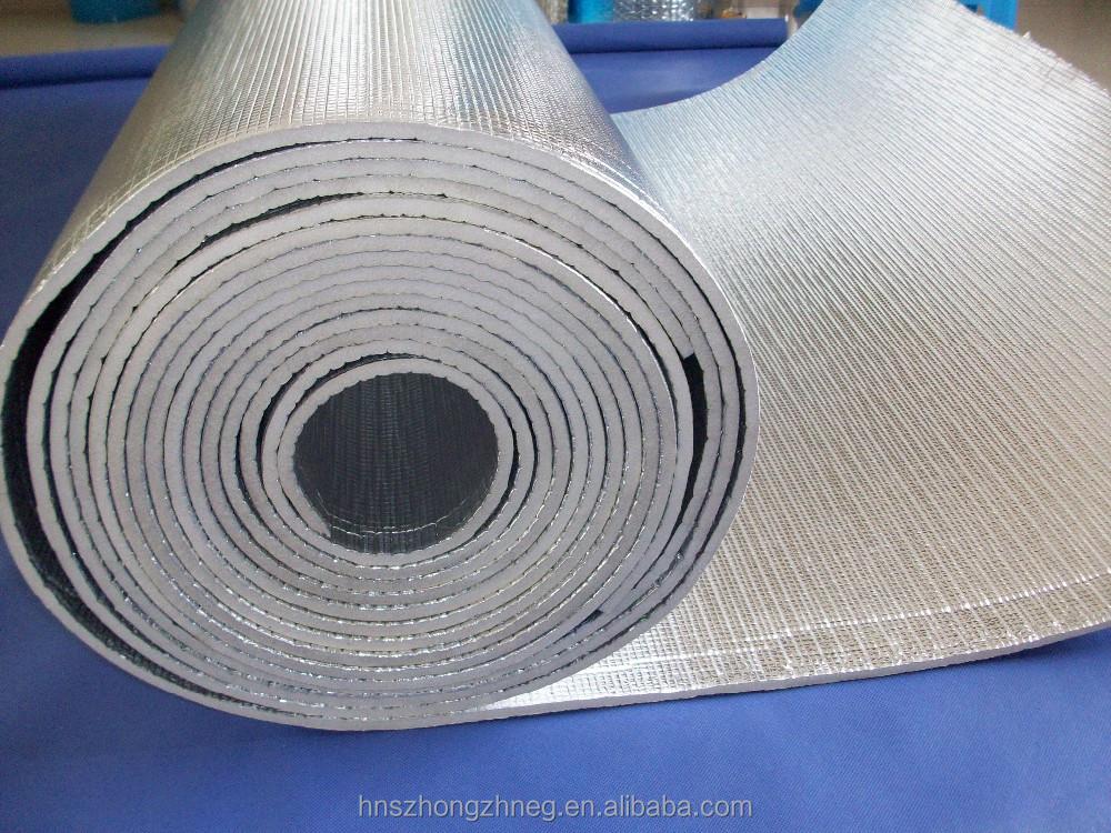 Xpe espuma y papel de aluminio material de aislamiento - Papel aislante termico ...
