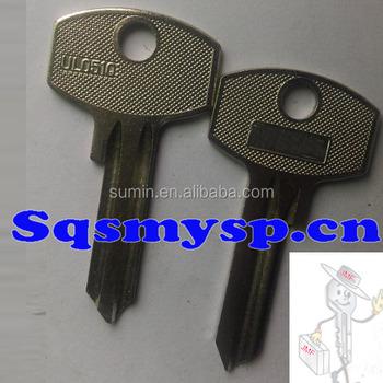 G074 Best Design Custom House Door Key Blanks Wholesale