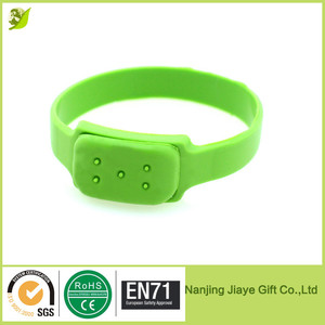 Natural citronella oil anti mosquito repellent bracelet