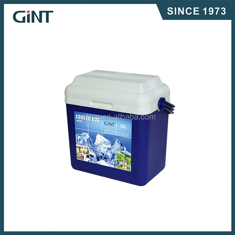 18L /28L outdoor plastic ice cooler box with wheels and handle hot sale