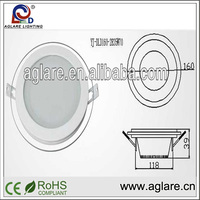 New fashion good price new Round led downlight Slim Recessed 2 4 6 8 inch recessed led down light led ceiling lighting