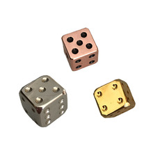 Alli Baba Manufacturers Custom Metal Colored Game Dice Set