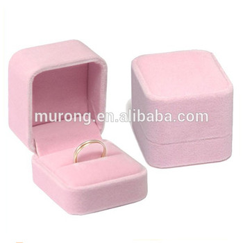 Wholesale Pink Collection Velvet Jewelry Ring Box Finger Ring Gift Box Ring Storage Box Buy Ring Box Ring Gift Box Velvet Box Product On Alibaba Com
