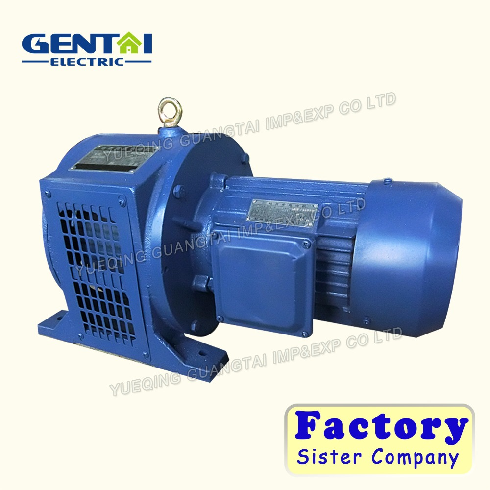 High Quality 120 volt 90kw electromagnetic governor variable speed electric motors