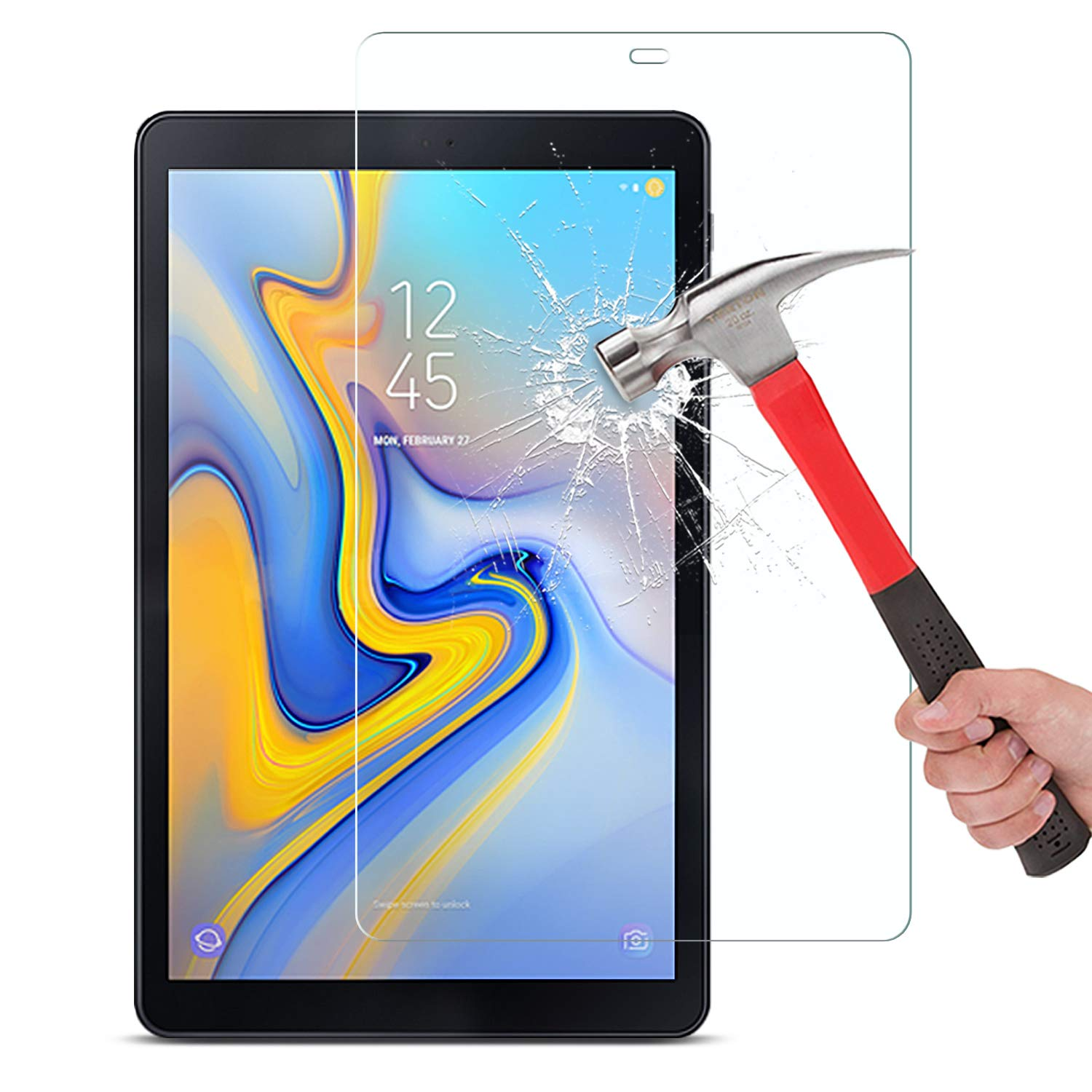 2019 Fashion Clear Soft Ultra Slim Screen Protector Film For Samsung Galaxy Tab S4 10.5 Sm-t830 T835 Tablet Protective Film Skillful Manufacture Tablet Accessories