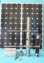 BLDC submersible solar water deep bore well pump ,4inch clean water pump