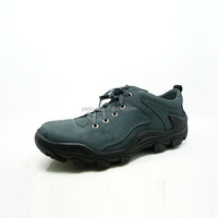 anti slip durable thick rubber sole custom made lightweight men hiking running shoes