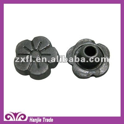 Decorative Custom Flower Shape Rivets and Studs