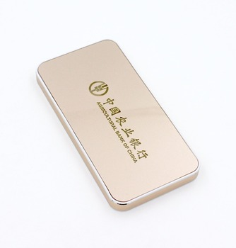 Promotion Item Free Shipping Metal Business Card Power Bank 5000mah