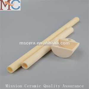 Heat Resistant 99 Alumina Ceramic Thermocouple Protection Tubes For RTD