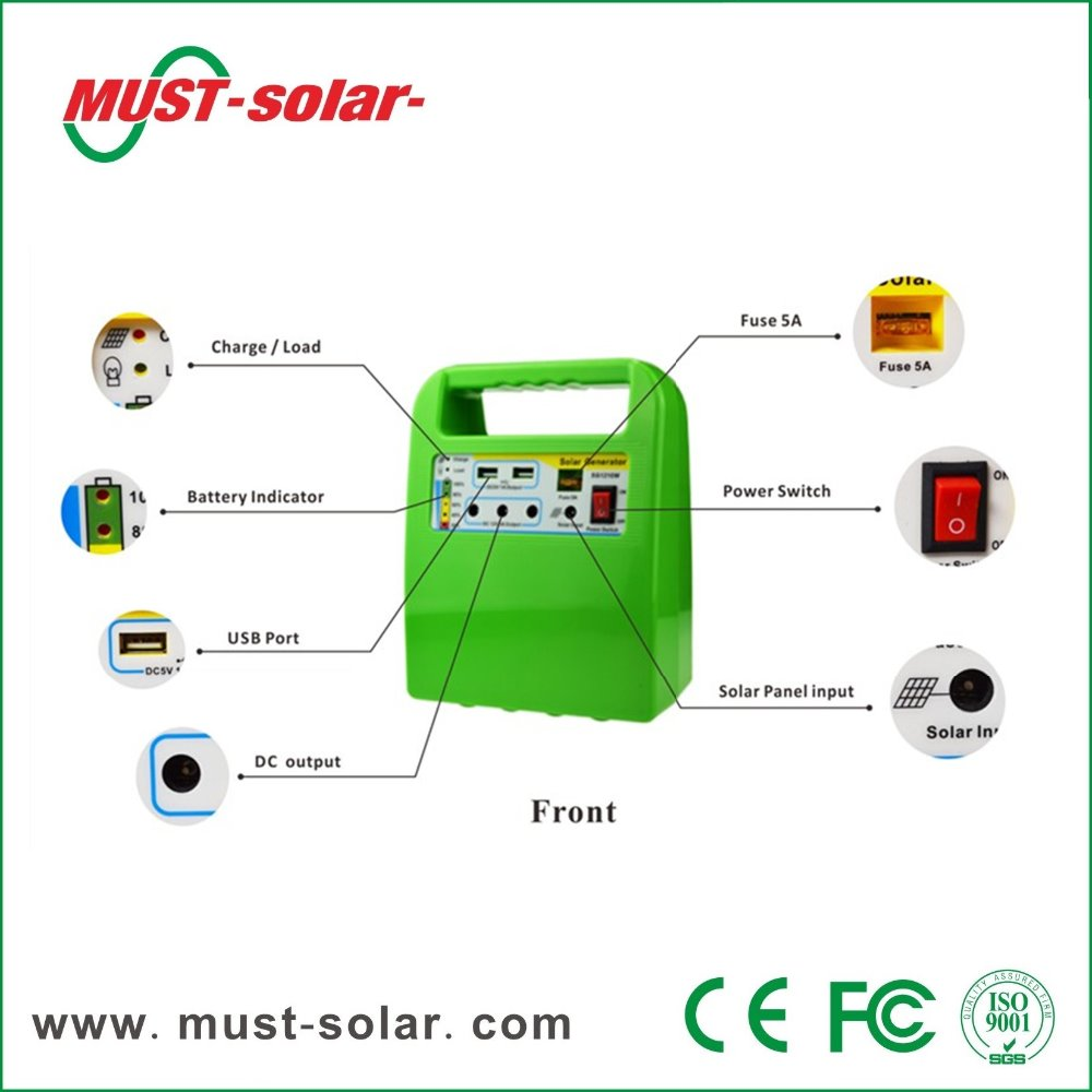 must Solar> 10w Home Lighting System Supplier/mini Solar Lighting ...