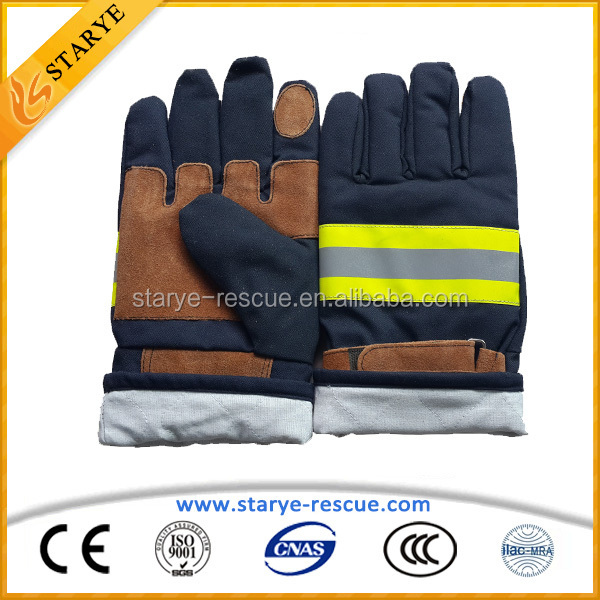 Best Choice Fireproof Ventilated Firefighting Gloves
