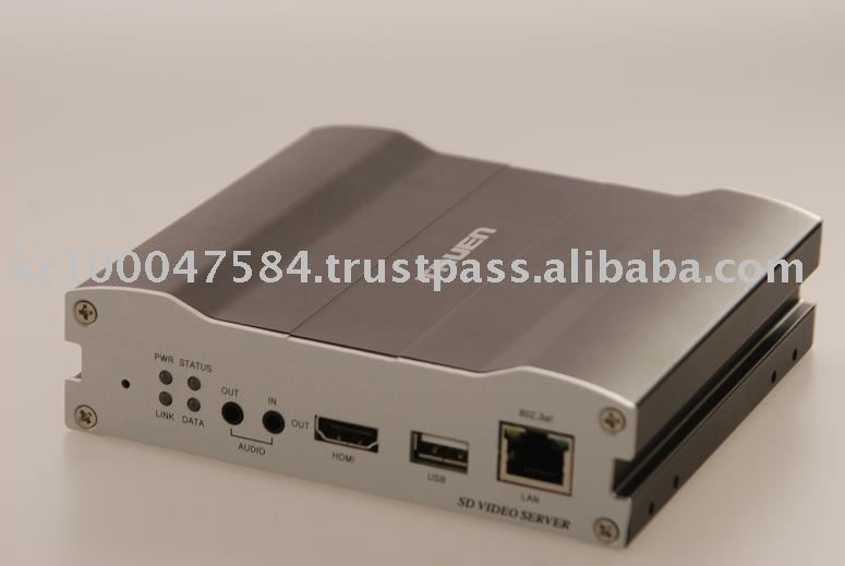 1CH Video Server (Dual streaming H.264/MJPEG)