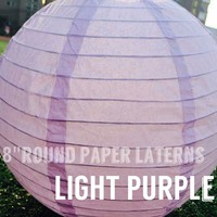 light purple mini paper lantern for Wedding Christmas Baby birthday Party Shopping Mall Decoration