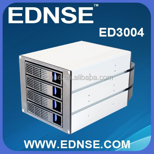 ED3004-C Tray-Less 4 in 3 Sata Hard Drive Cage