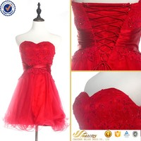 2017 red lace prom dress for girl wedding dress real sample new party dress
