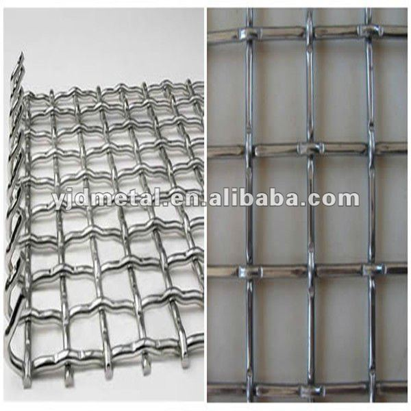 5x5/4x4/3x3 stainless steel screen wire mesh/mining vibratoring sieve screen mesh for sale