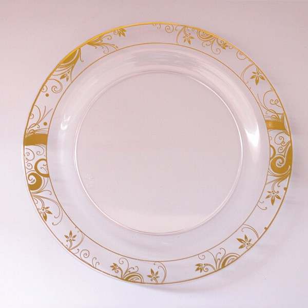 decorative plastic plates for wedding disposable plastic plate for wedding buy dinner 3461