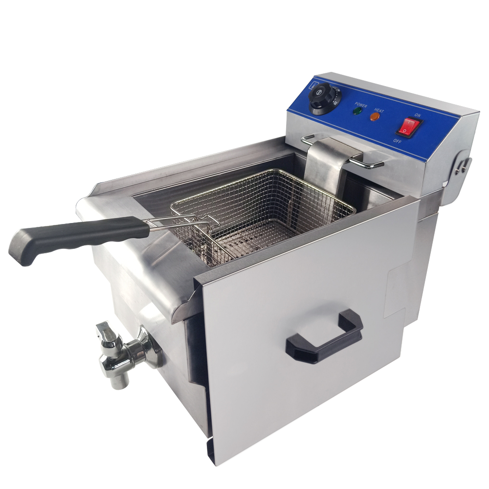 Chain shop DLT-10V superior electric deep fryer 10L stainless steel