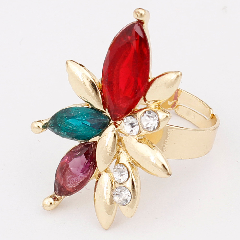סיטונאית מכירה חמה 18K מצופה זהב תליון טיפת מים חתונה רומנטית שרשרת צמיד טבעת עגילים, תכשיטי סטים לכלה