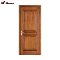 High Quality Modern Front Teak Indoor Wooden Sliding Doors